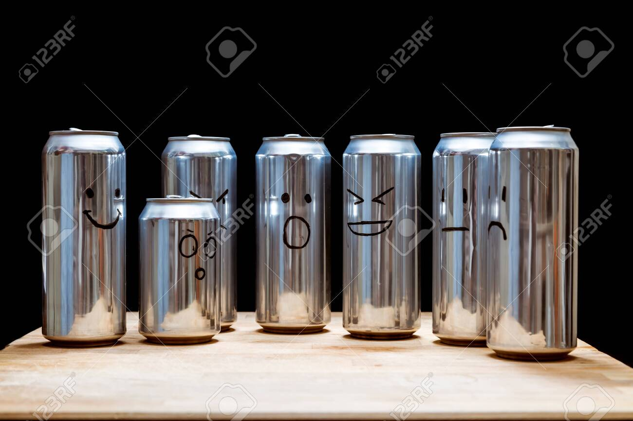 Empty Aluminum Cans As A Human Society Instead Faces Smilies Stock Photo Picture And Royalty Free Image Image 119135337 Someone turned the trash emoji into a real thing paul de la blart the meme cop send message edit page publish photo boost tvimovie award meme, sagaing, burma ⚙c empty aluminum cans as a human society instead faces smilies stock photo picture and royalty free image image 119135337