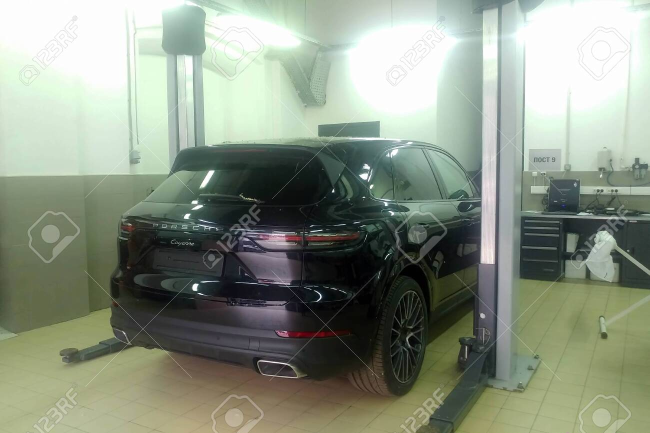 Moscow Russia June 04 2019 All New Porsche Cayenne 2019 Stock Photo Picture And Royalty Free Image Image 139043965