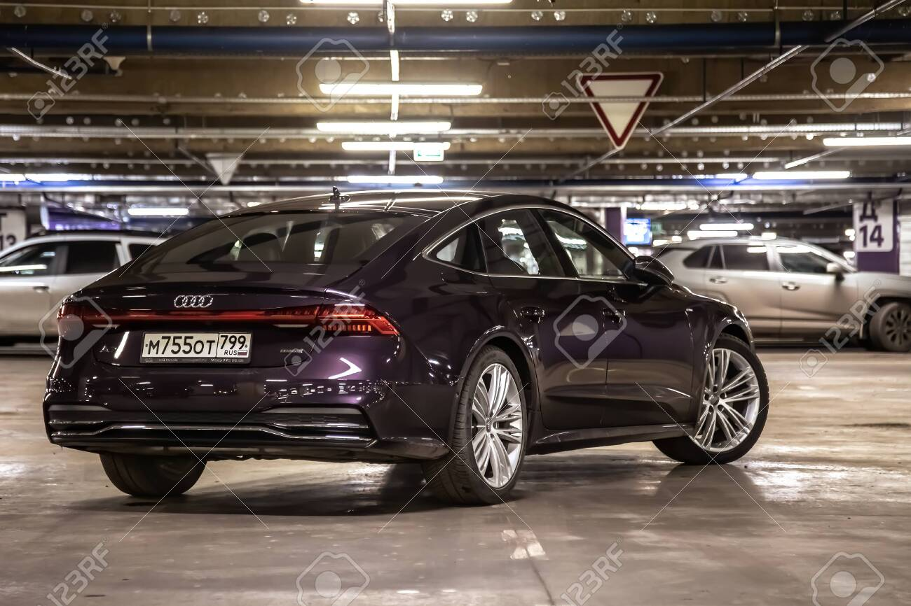 Moscow Russia January 16 2020 Audi A7 Sportback Ultra Nova Stock Photo Picture And Royalty Free Image Image 145015482