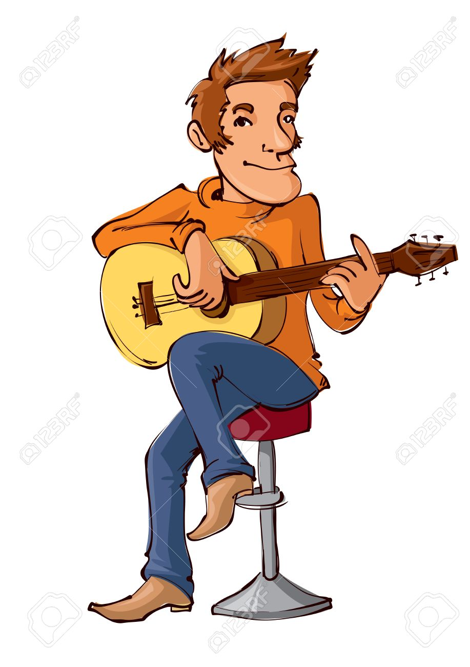 7 367 guitar player stock illustrations cliparts and royalty free rh 123rf com cartoon guitar player clipart Guitar Player Silhouette