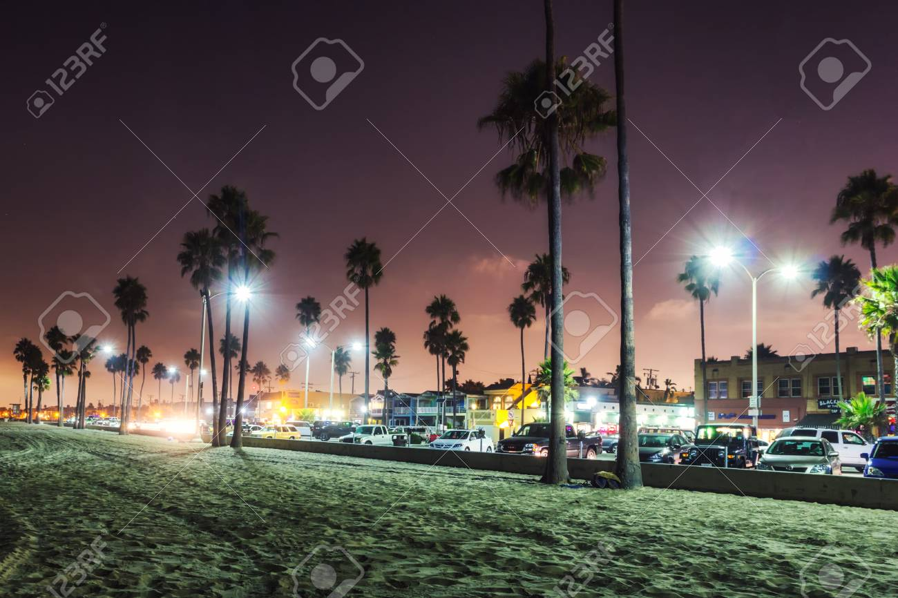 Los Angeles Usa October 2013 Purple Sunset In Newport Beach Stock Photo Picture And Royalty Free Image Image 108051818
