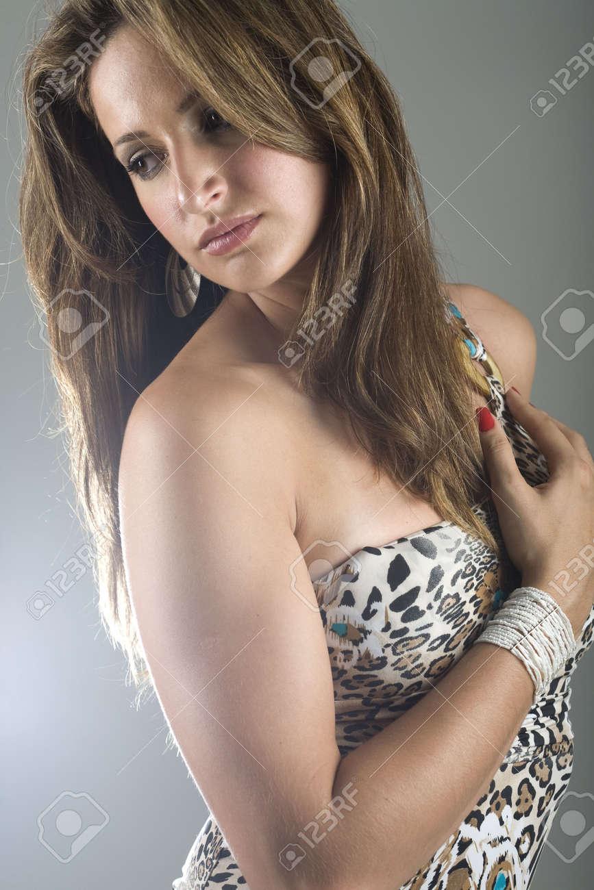 Young brazilian model
