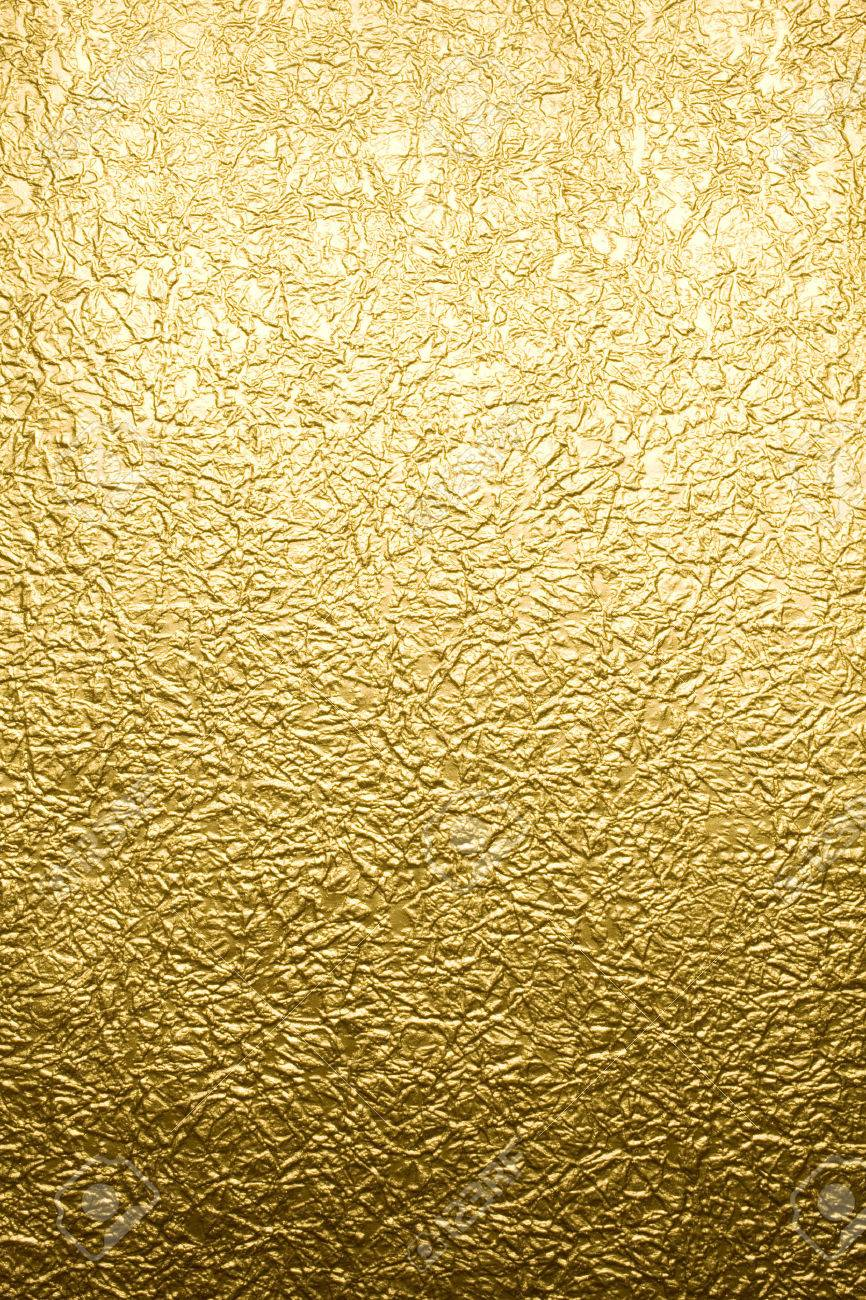Gold paper texture background - 63708963