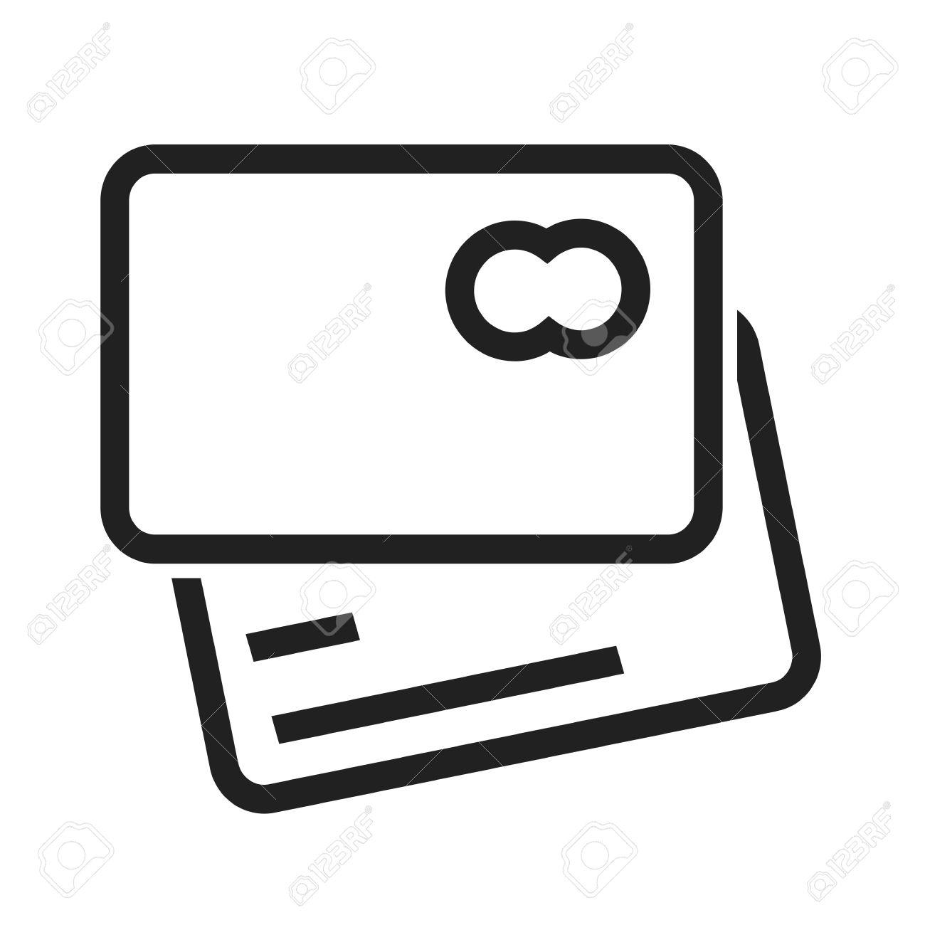 Card credit debit card visa card icon vector image can also card credit debit card visa card icon vector image can also be used biocorpaavc Choice Image