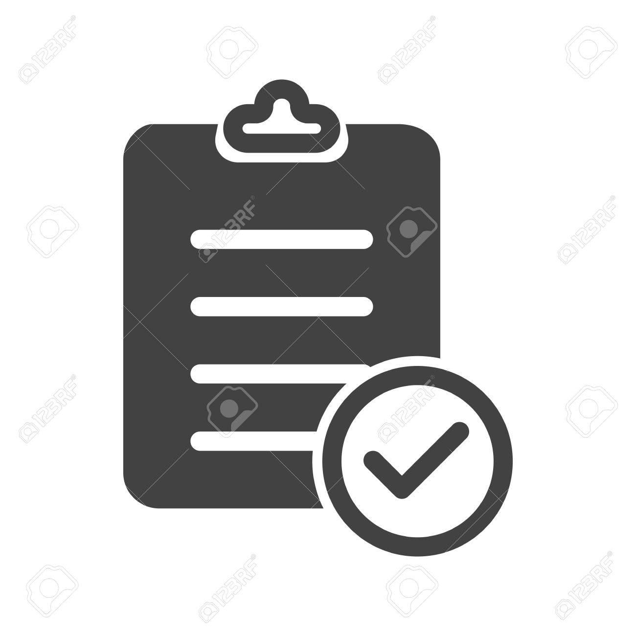 Checklist items clipboard icon vector image can also be used checklist items clipboard icon vector image can also be used for banking biocorpaavc Gallery