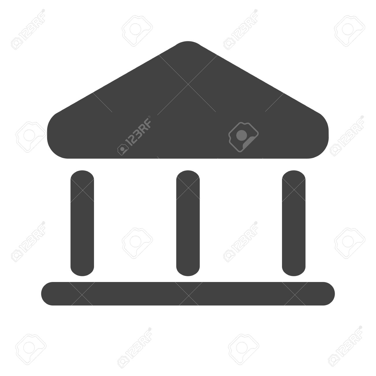 Building bank institution icon vector image can also be used building bank institution icon vector image can also be used for banking biocorpaavc Gallery