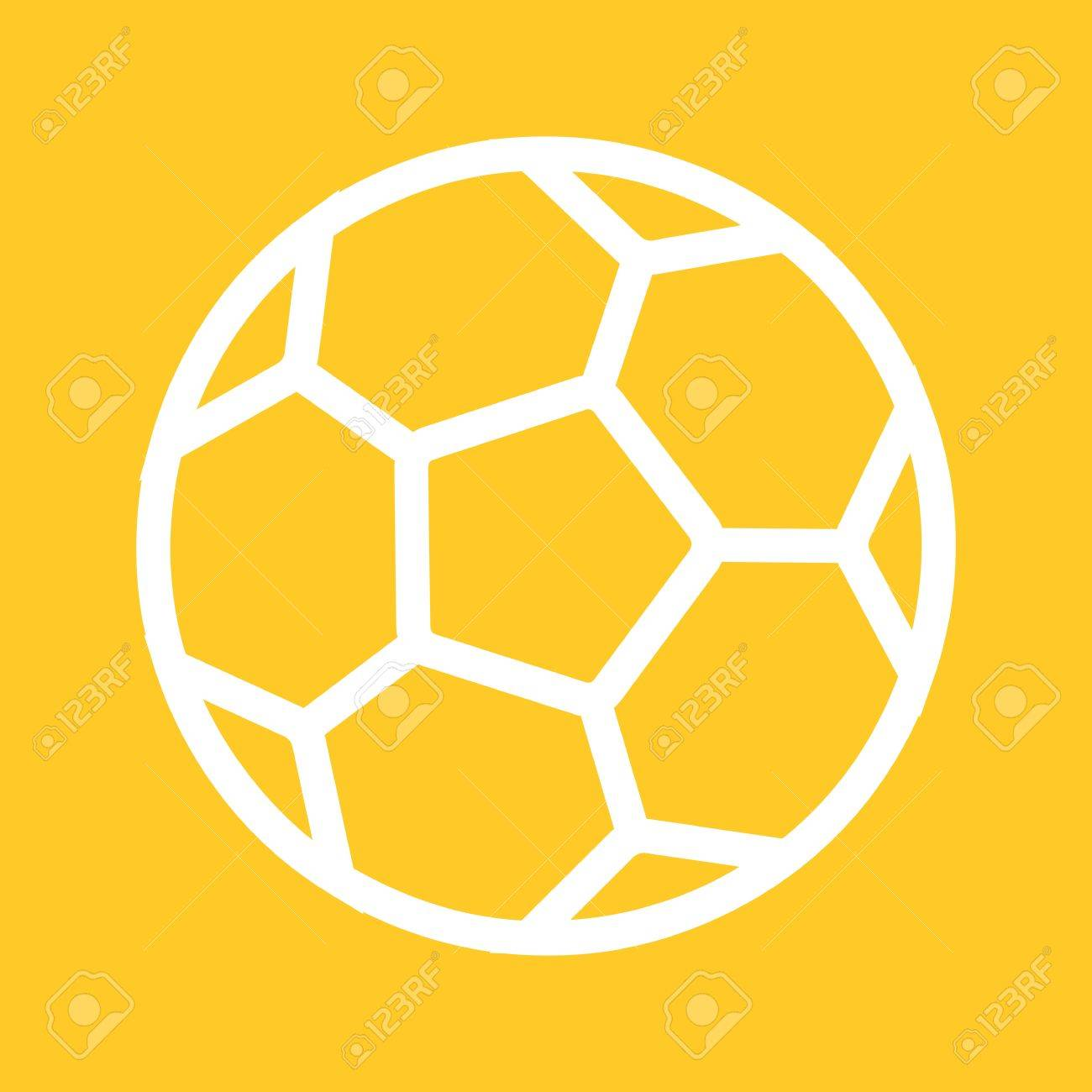 Football Ball Soccer Icon Vector Image Can Also Be Used For