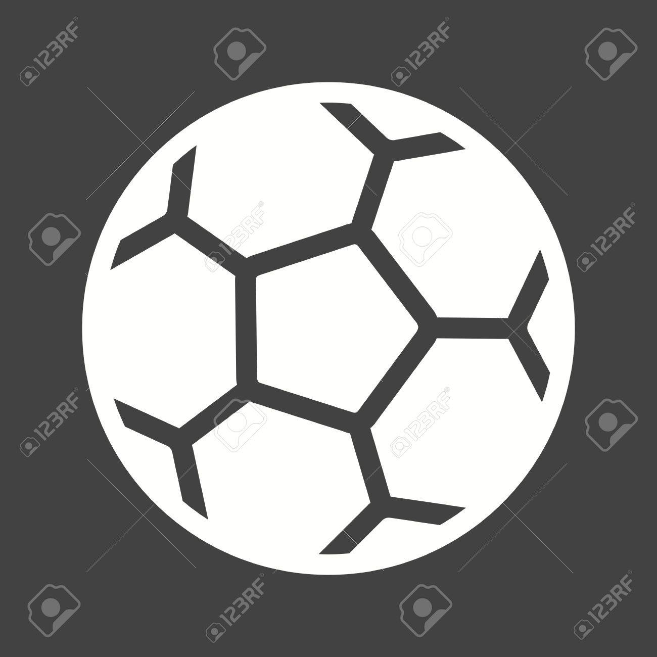 Football Ball Soccer Sports Icon Vector Image Can Also Be Used