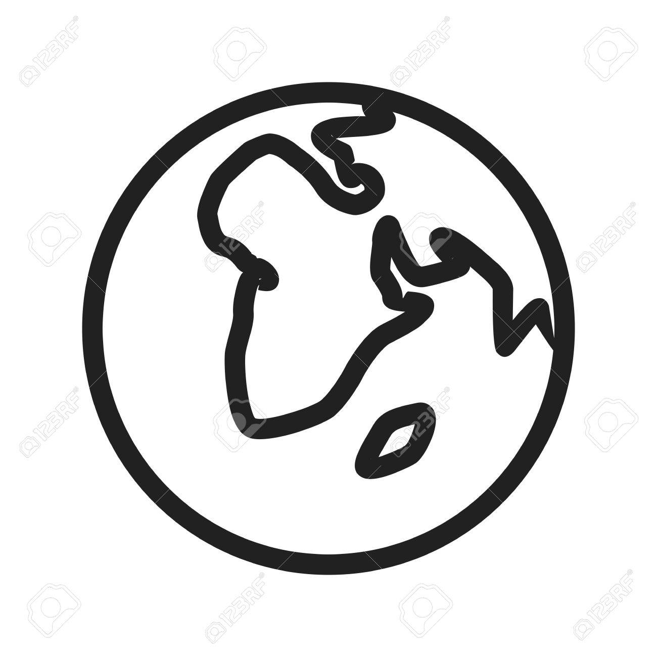 Globe earth world icon vector image can also be used for energy globe earth world icon vector image can also be used for energy and publicscrutiny Choice Image