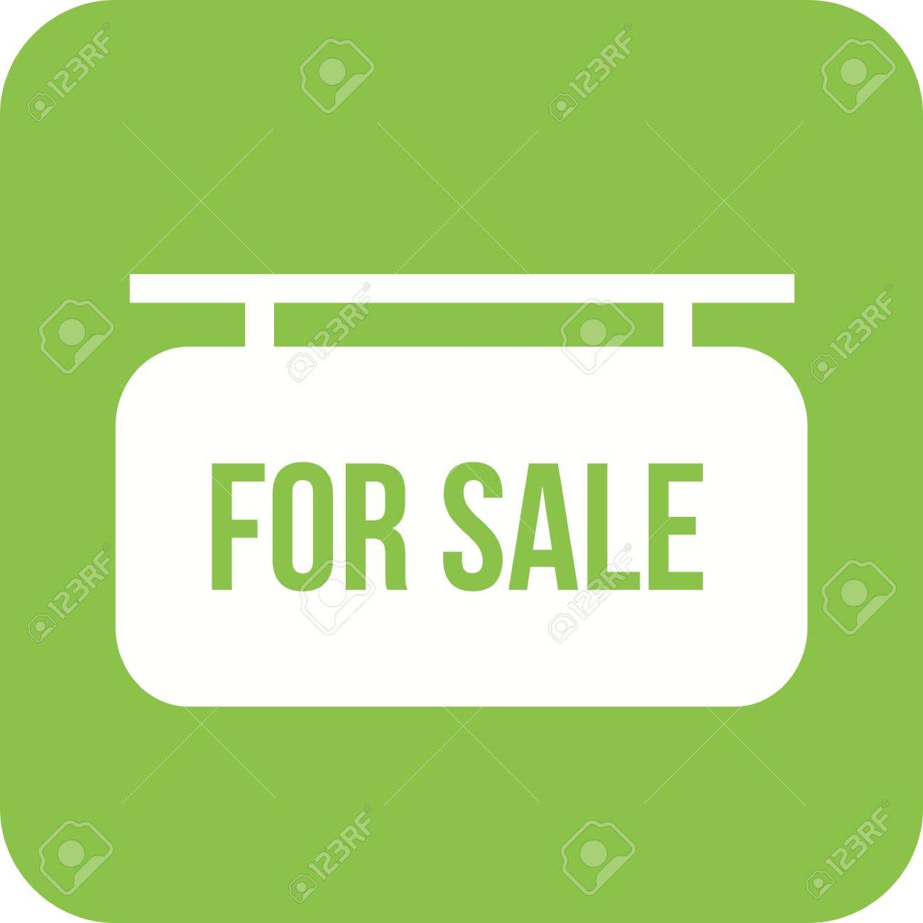 Home, Estate, Sale Icon Vector Image. Can Also Be Used For Real ...