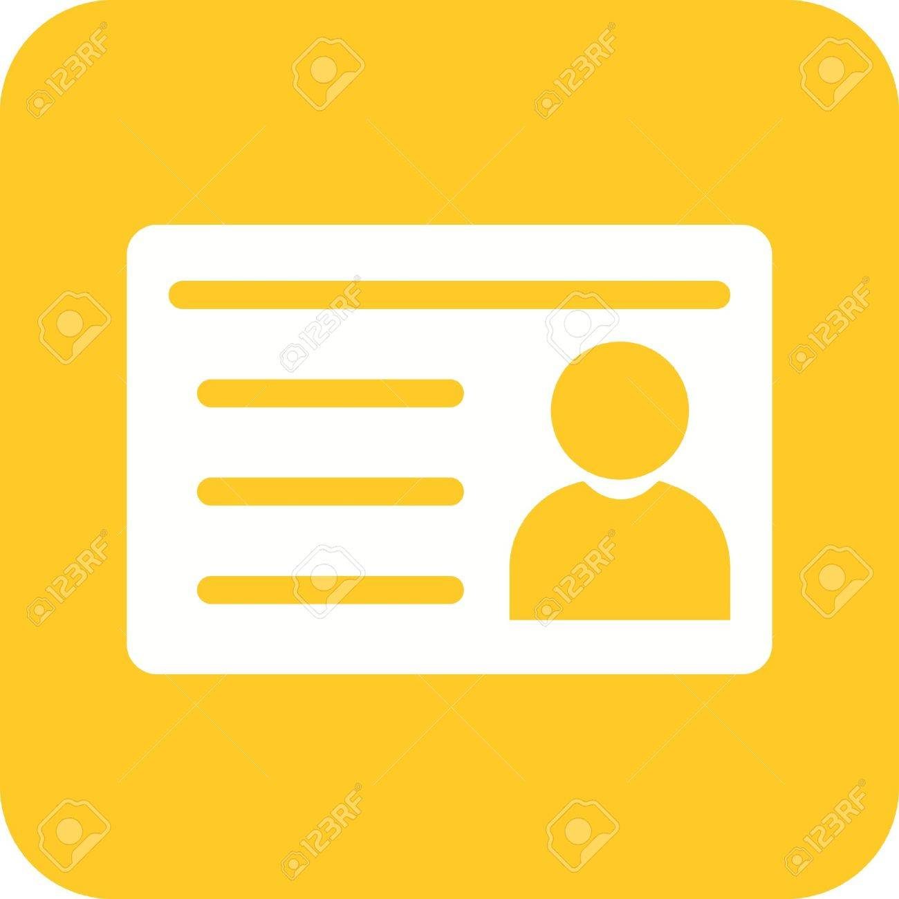 Student Image Card 40860926 Id Vectors And Stock Royalty Vector Illustration Can Icon Image Free Cliparts Also Identification