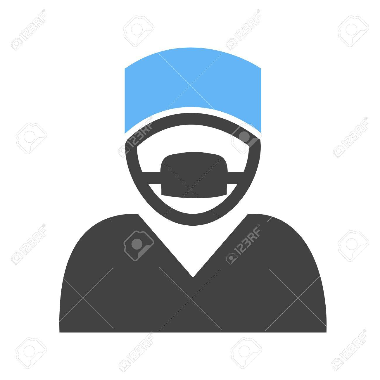 Surgeon Doctor Surgery Mask Icon Vector Image Can Also Be Royalty Free Cliparts Vectors And Stock Illustration Image 41375952