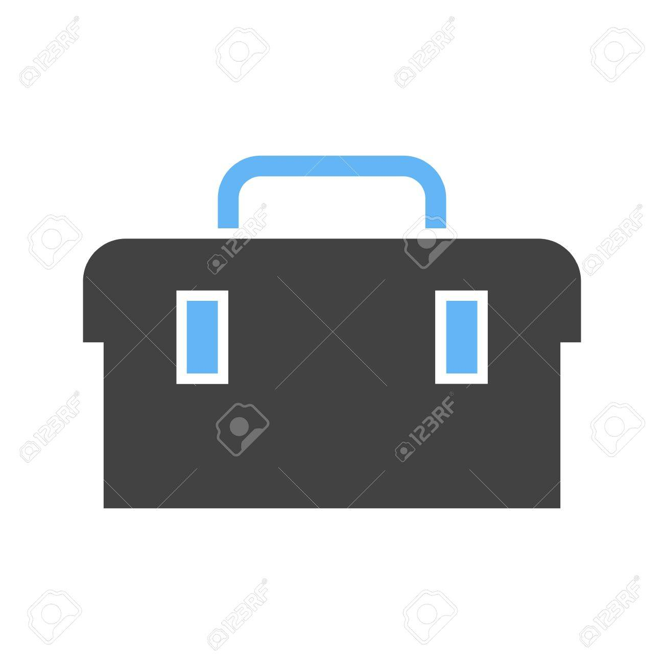 toolbox kit toolkit icon vector image can also be used for