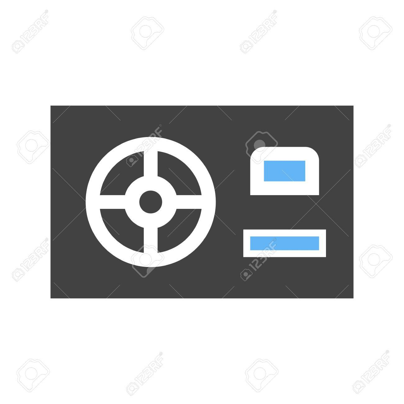 power supply hdmi computer icon vector image can also be used royalty free cliparts vectors and stock illustration image 41386854 123rf com
