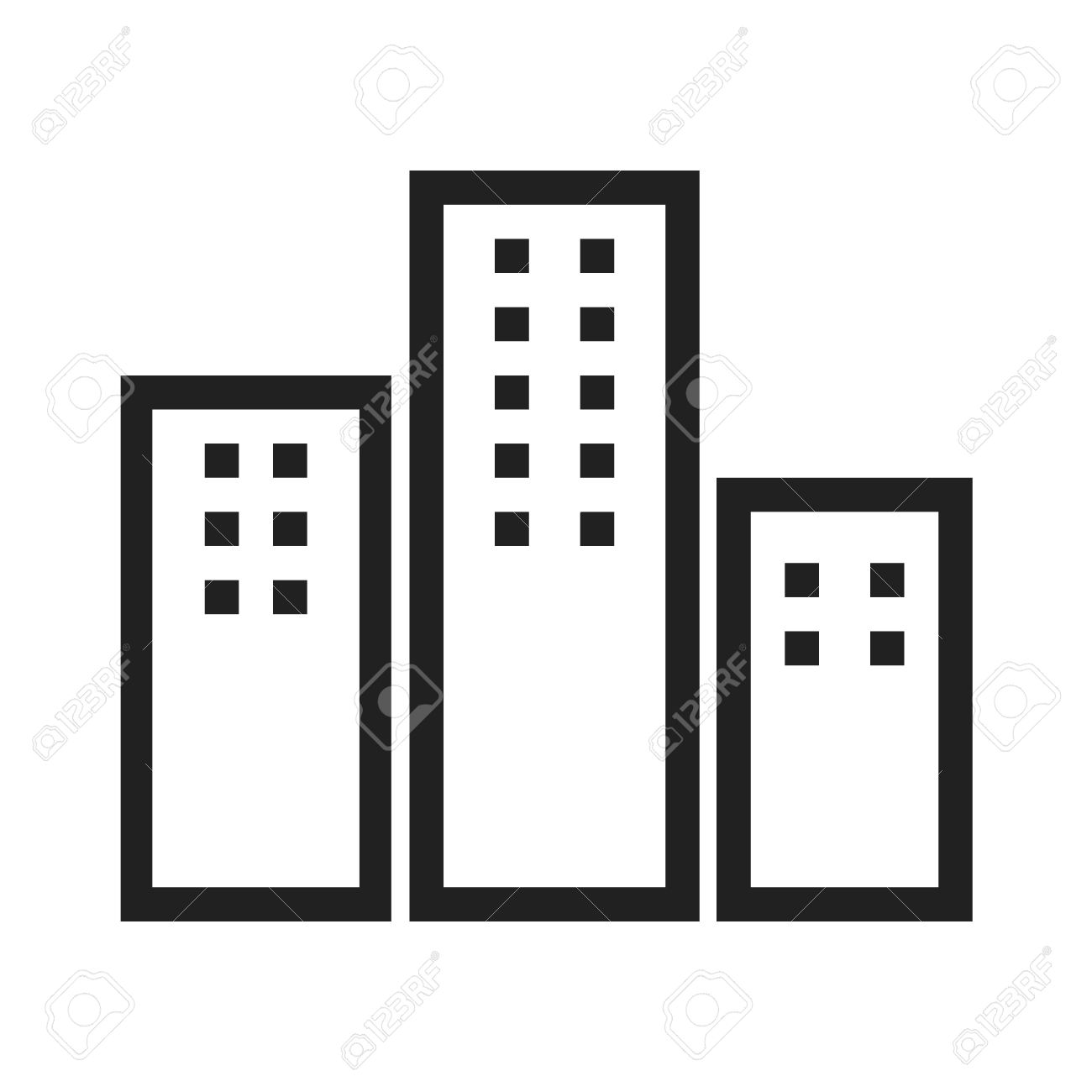 black and white apartment building clip art. apartments clipart  building residential icon vector image can also be used for real estate Apartments Clipart Apartment Clip Art 1