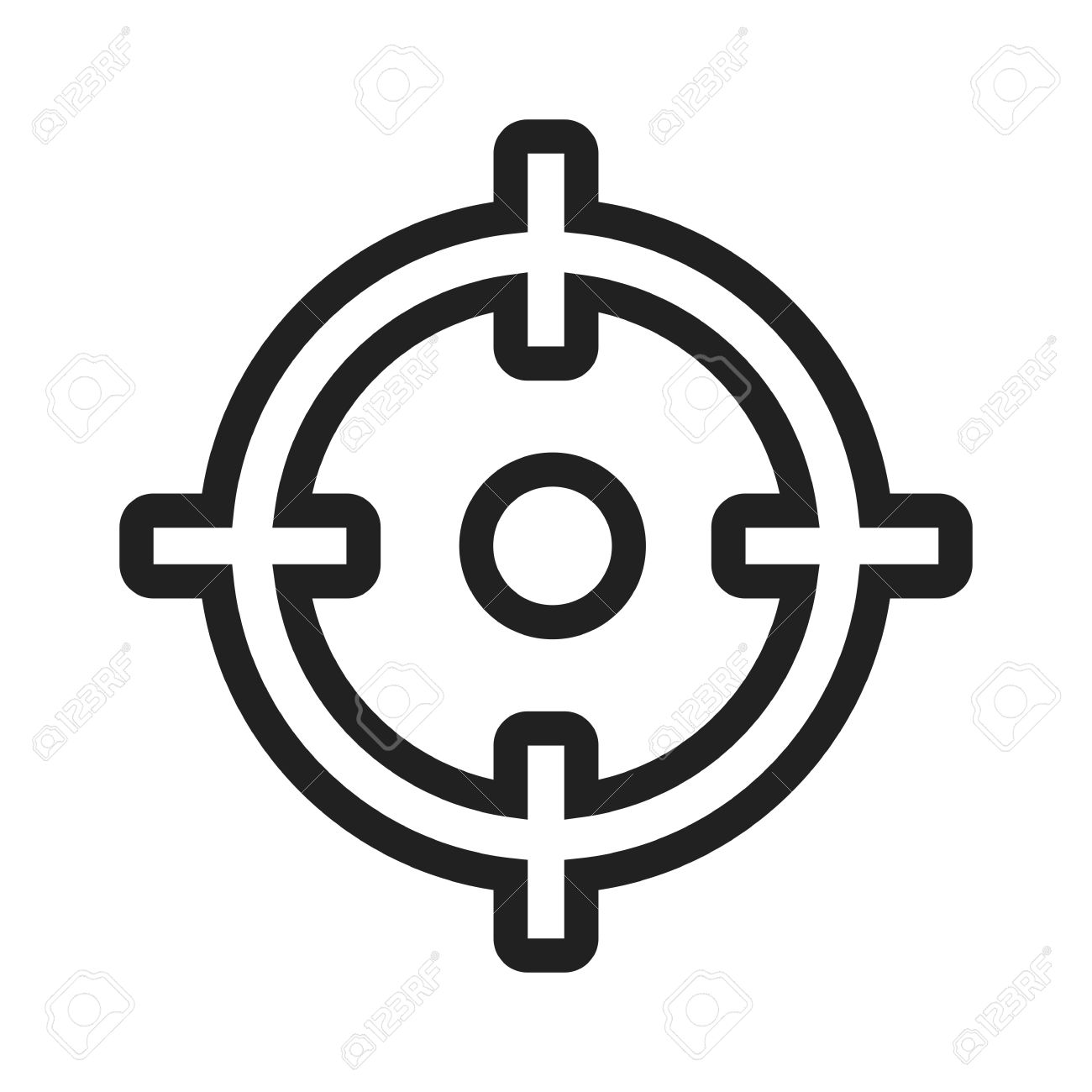 target market aim icon vector image can also be used for seo royalty free cliparts vectors and stock illustration image 41967065 target market aim icon vector image can also be used for seo