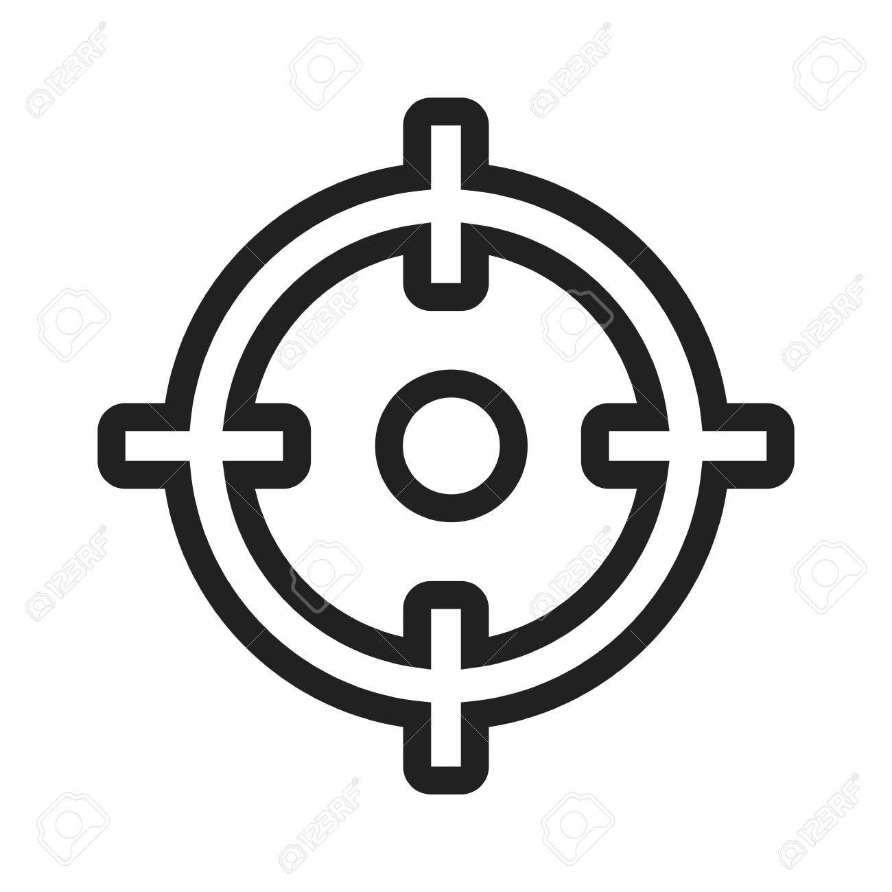 target market aim icon vector image can also be used for seo royalty free cliparts vectors and stock illustration image 42030832 target market aim icon vector image can also be used for seo