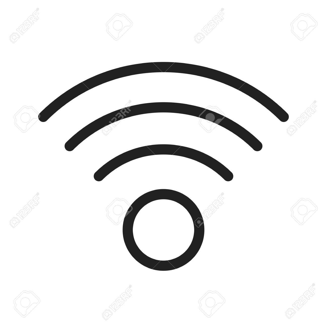Wireless internet icon dolgular wifi wireless internet icon vector image can also be used biocorpaavc