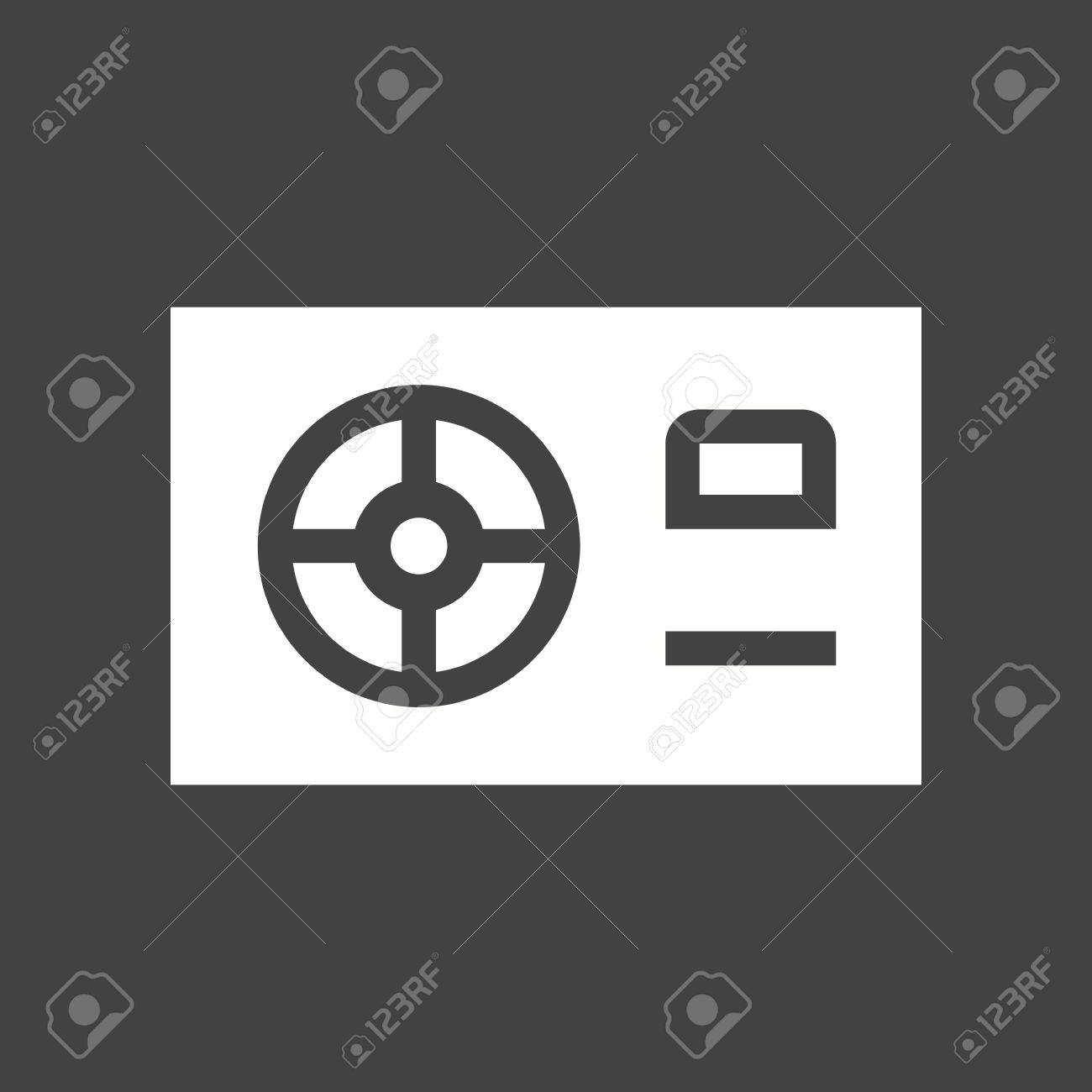 Power Supply, HDMI, Computer Icon Vector Image. Royalty Free ...