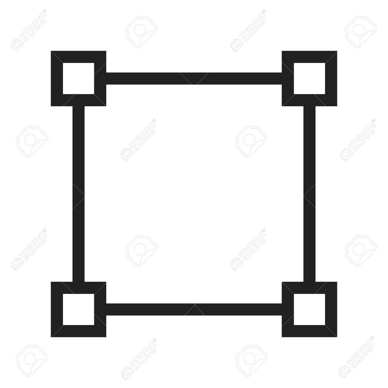 Node network diagram icon vector image can also be used for node network diagram icon vector image can also be used for shapes and ccuart Images