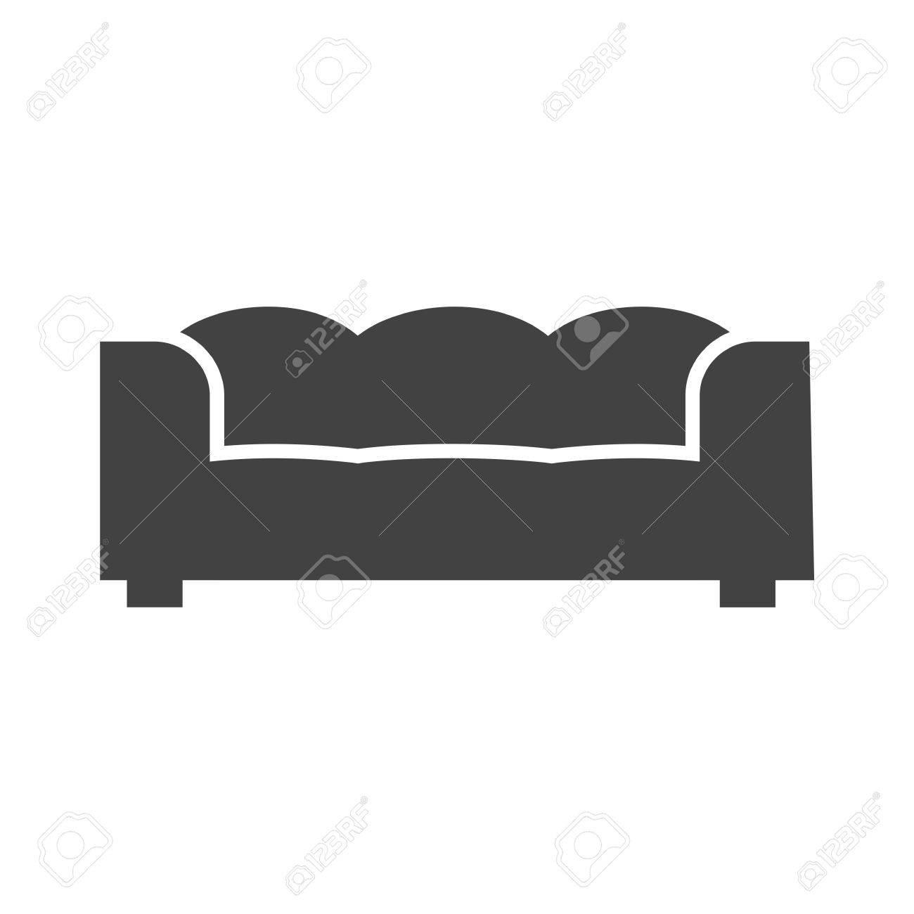 Modern Zuhause Interior Symbol Vektor Imagecan Auch Für Möbel