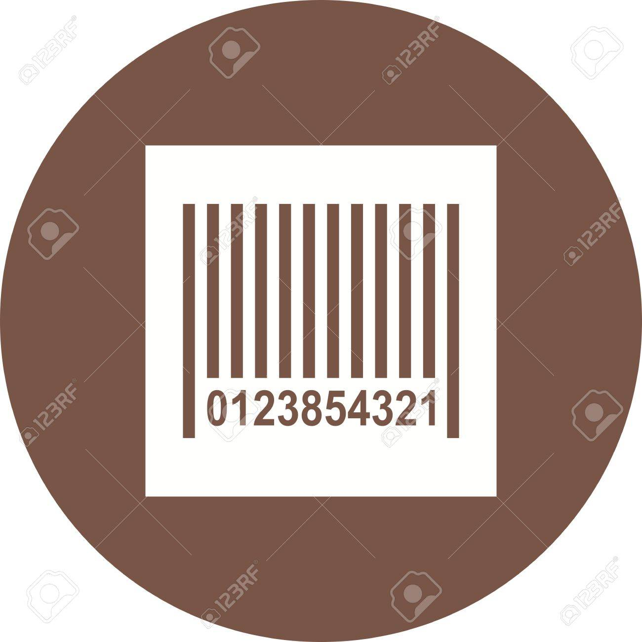 Barcode, scanner, label icon vector image  Can also be used for
