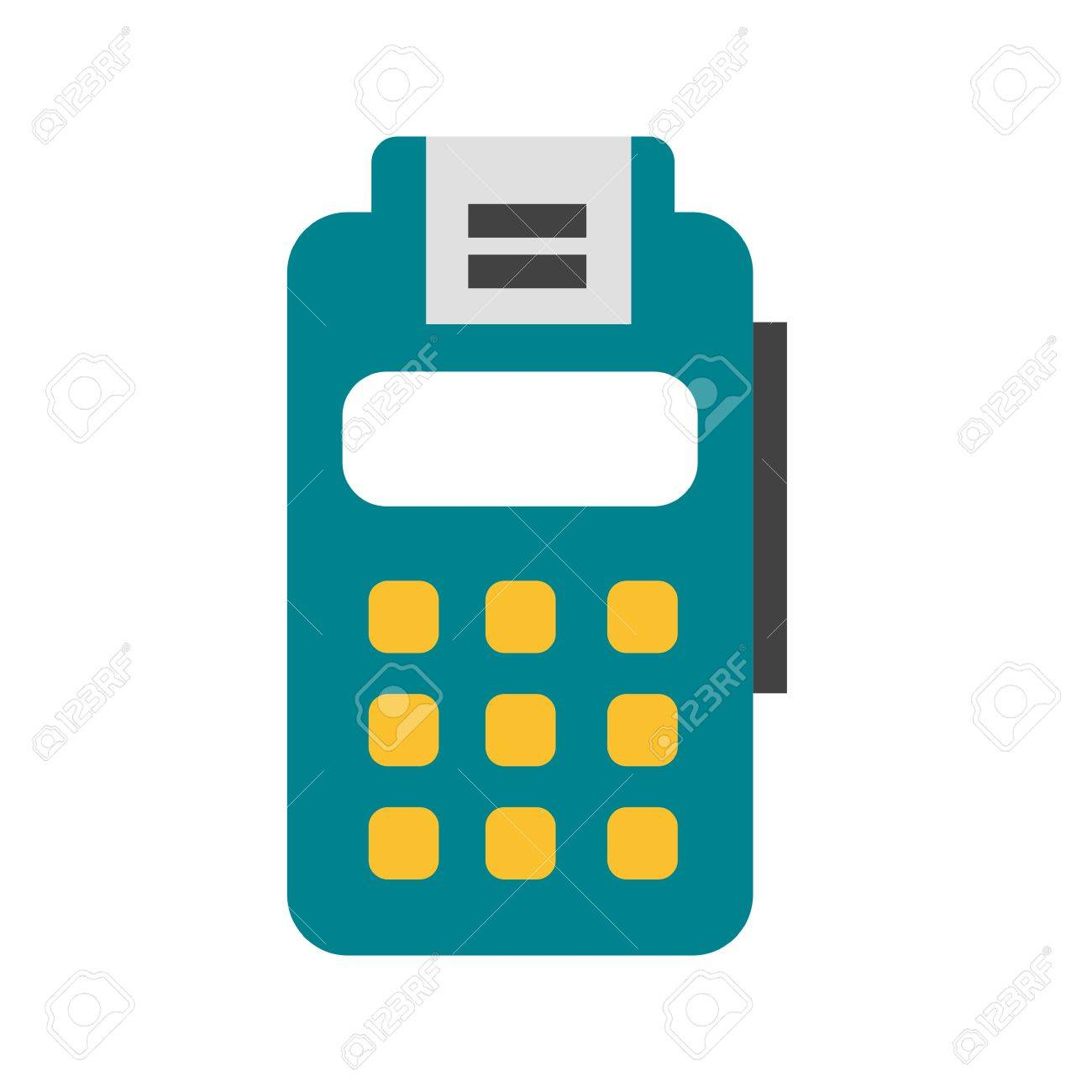 Card, Machine, Credit Icon Vector Image. Can Also Be Used For ...