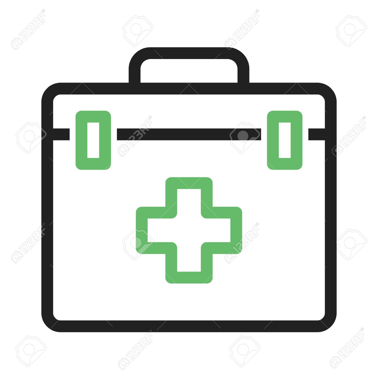 First Aid, Kit Icon Vector Image. Can Also Be Used For Camping ...