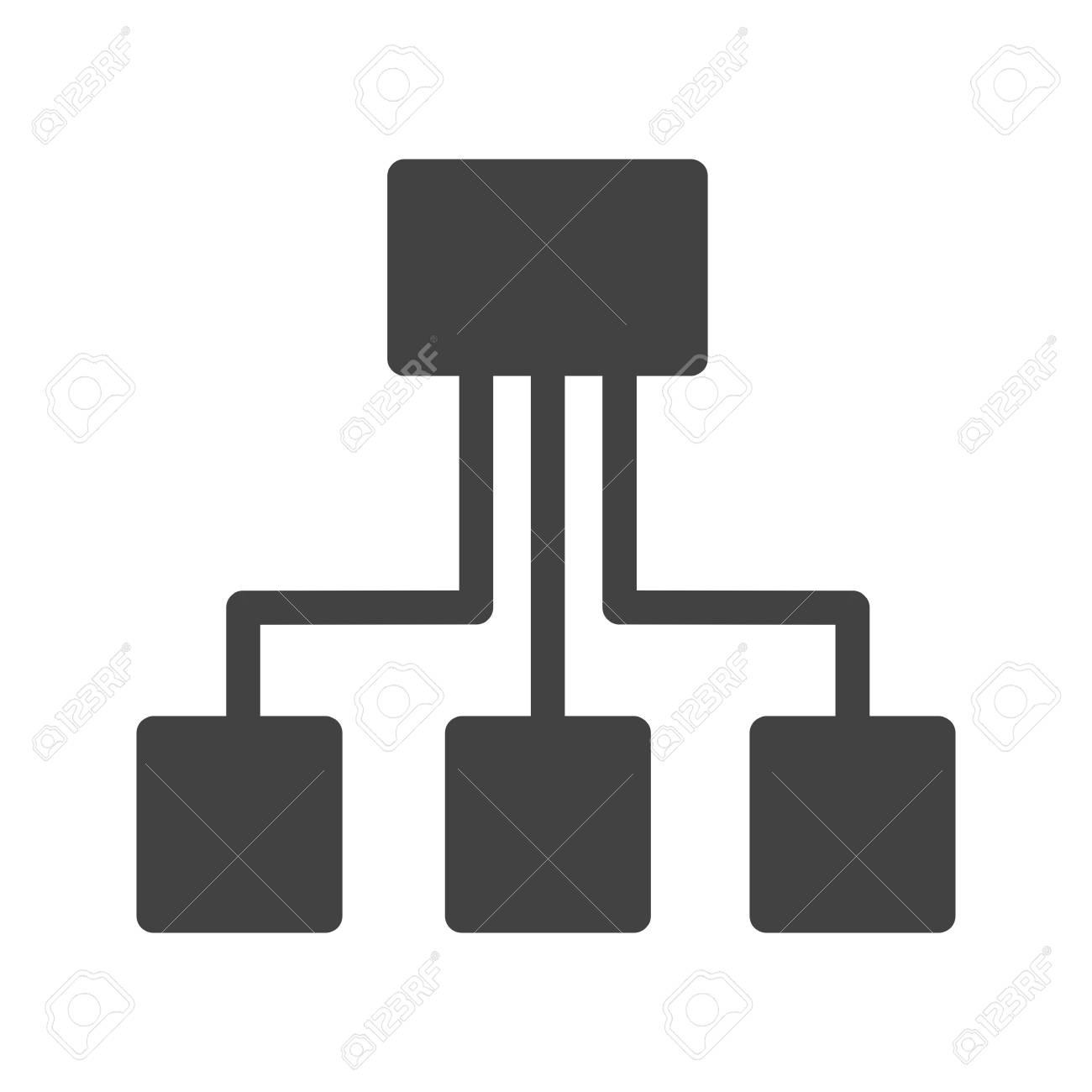 Netzwerk, Technologie, Verbindungssymbol Vektor-Bild. Kann Auch Für ...
