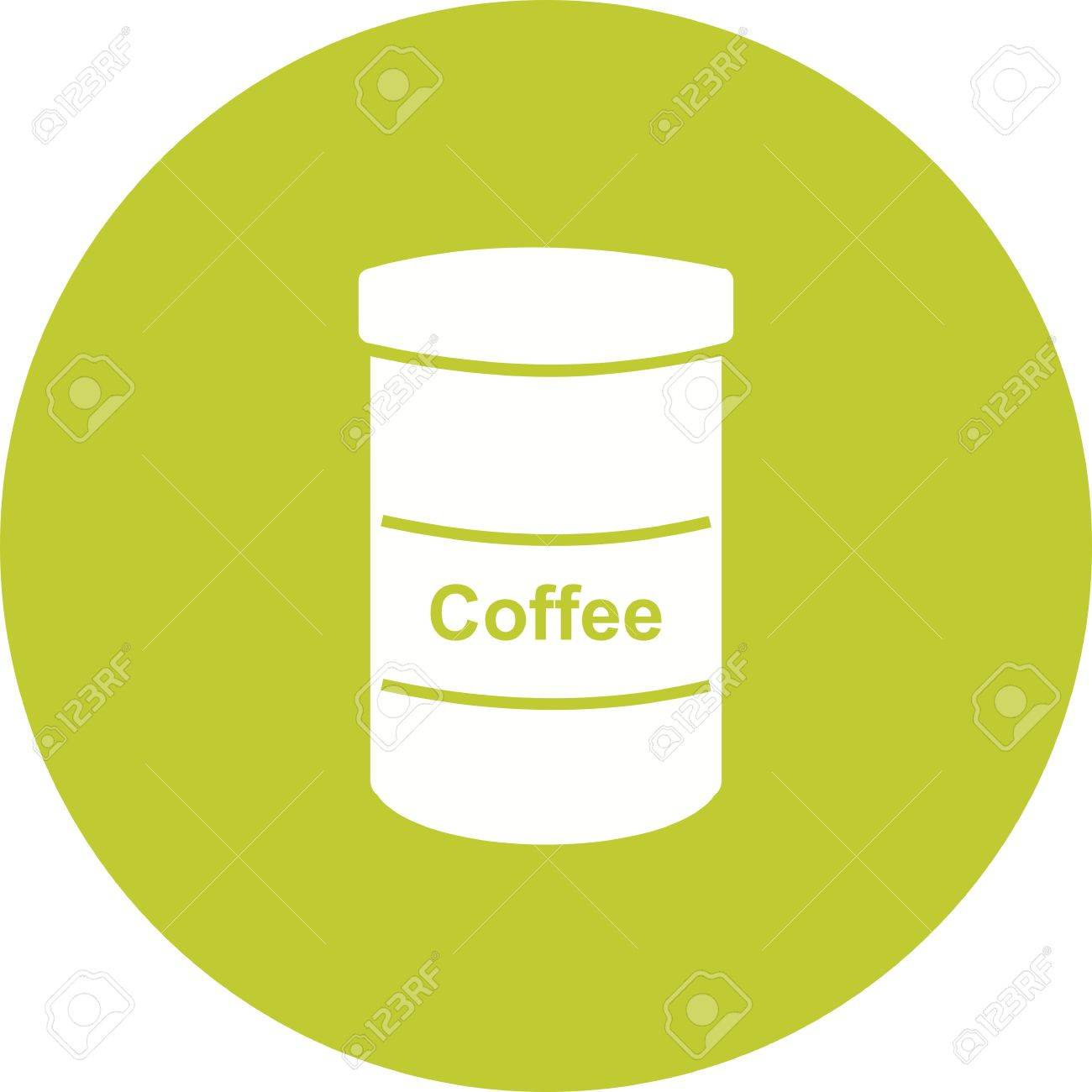 Coffee, bottle, jar icon vector image  Can also be used for food