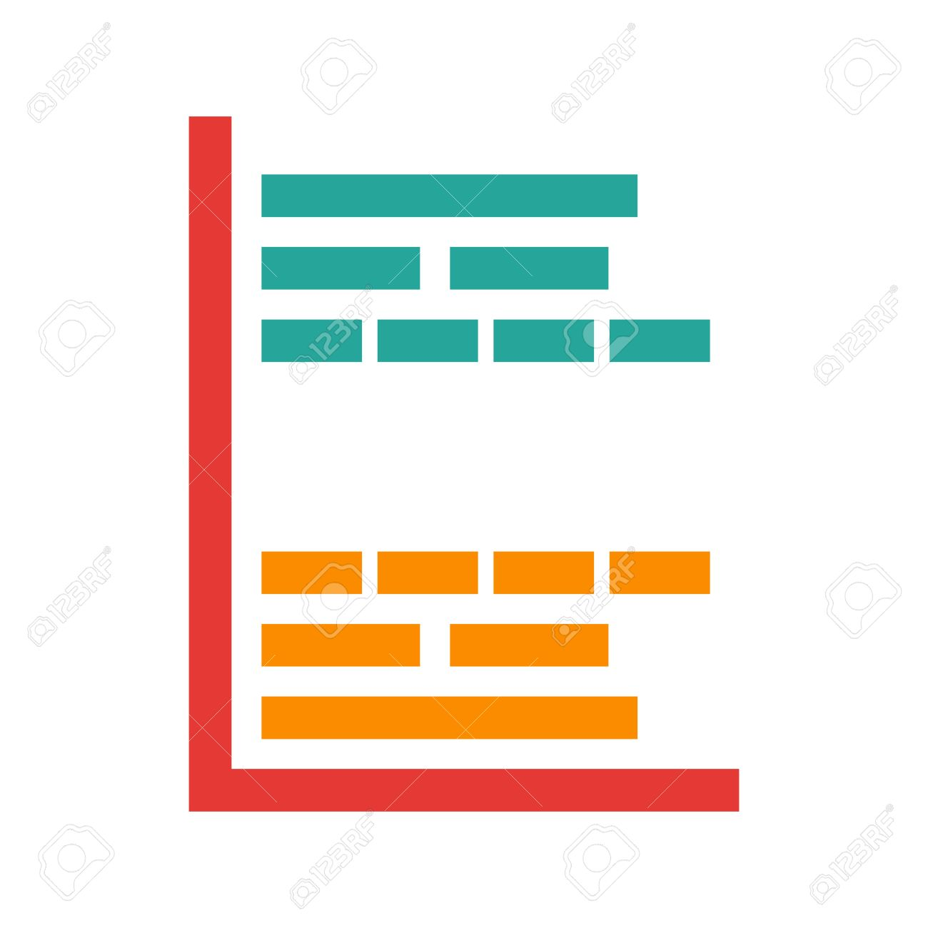 Gantt project chart icon vector image can also be used for gantt project chart icon vector image can also be used for business management nvjuhfo Images
