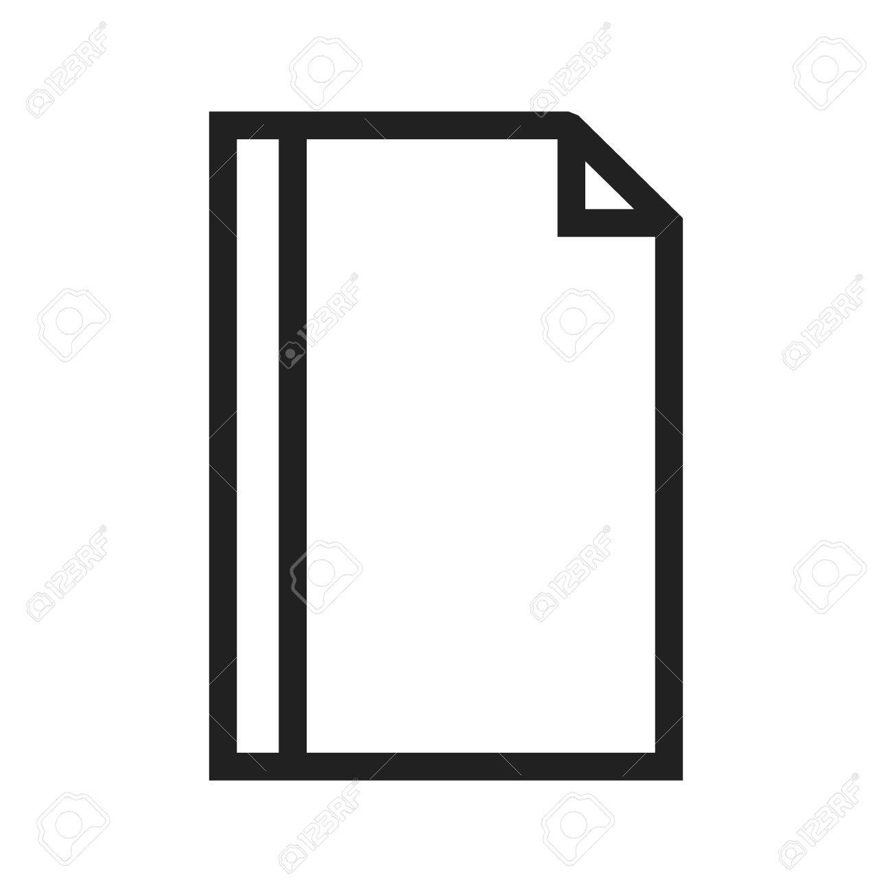Page, Borders, Frame Icon Vector Image. Can Also Be Used For ...
