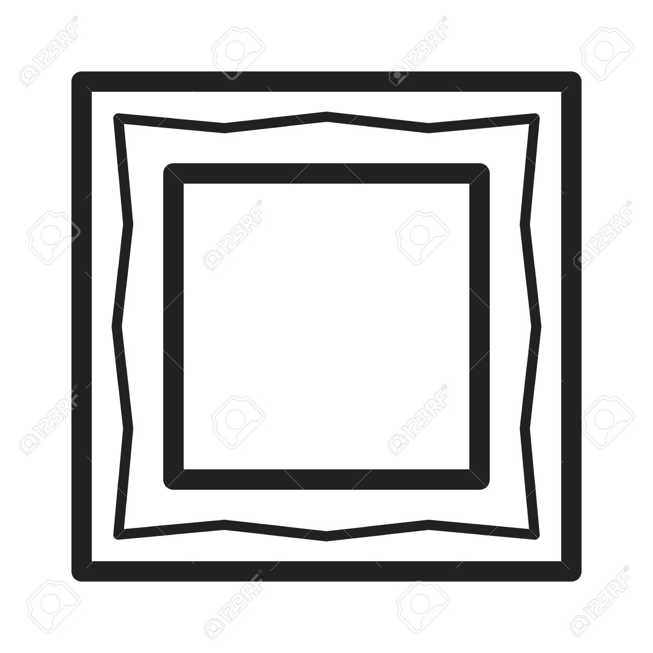 Frame, Picture, Wooden Icon Vector Image.Can Also Be Used For ...