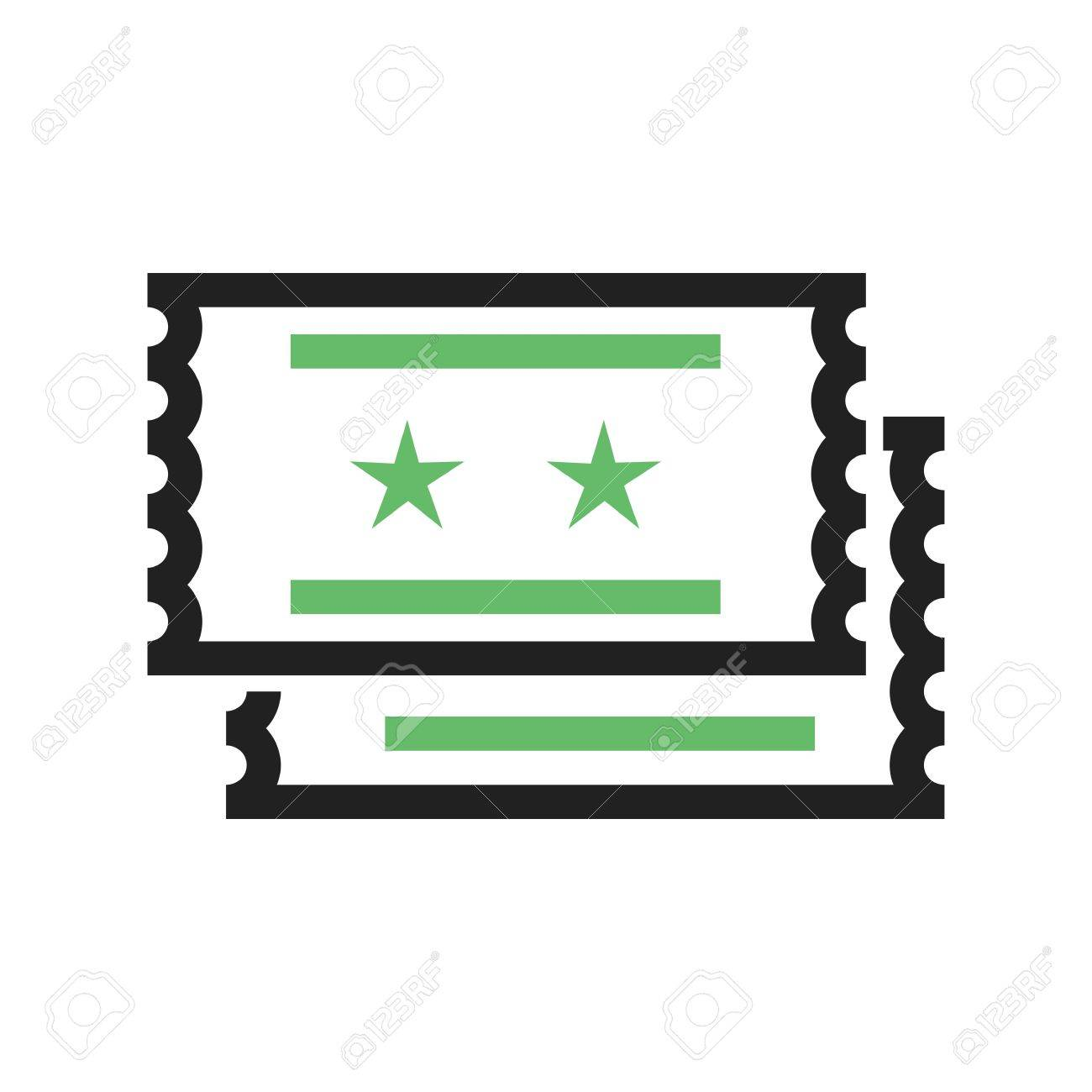 movie tickets raffle icon vector image can also be used for movie tickets raffle icon vector image can also be used for outdoor fun