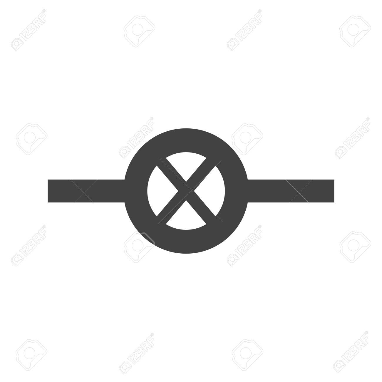 Wunderbar Symbole Die In Elektrischen Zeichnungen Verwendet Werden ...