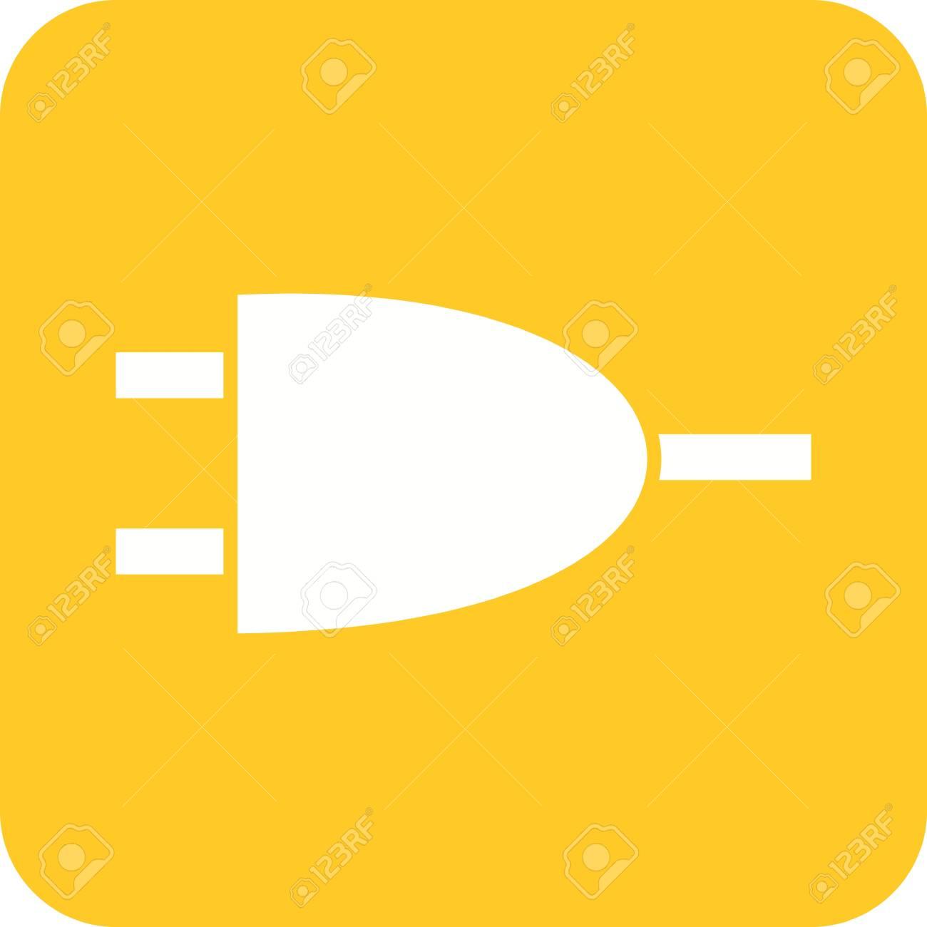Circuit, Komponente, Strom-Symbol Vektor-Bild. Kann Auch Für ...