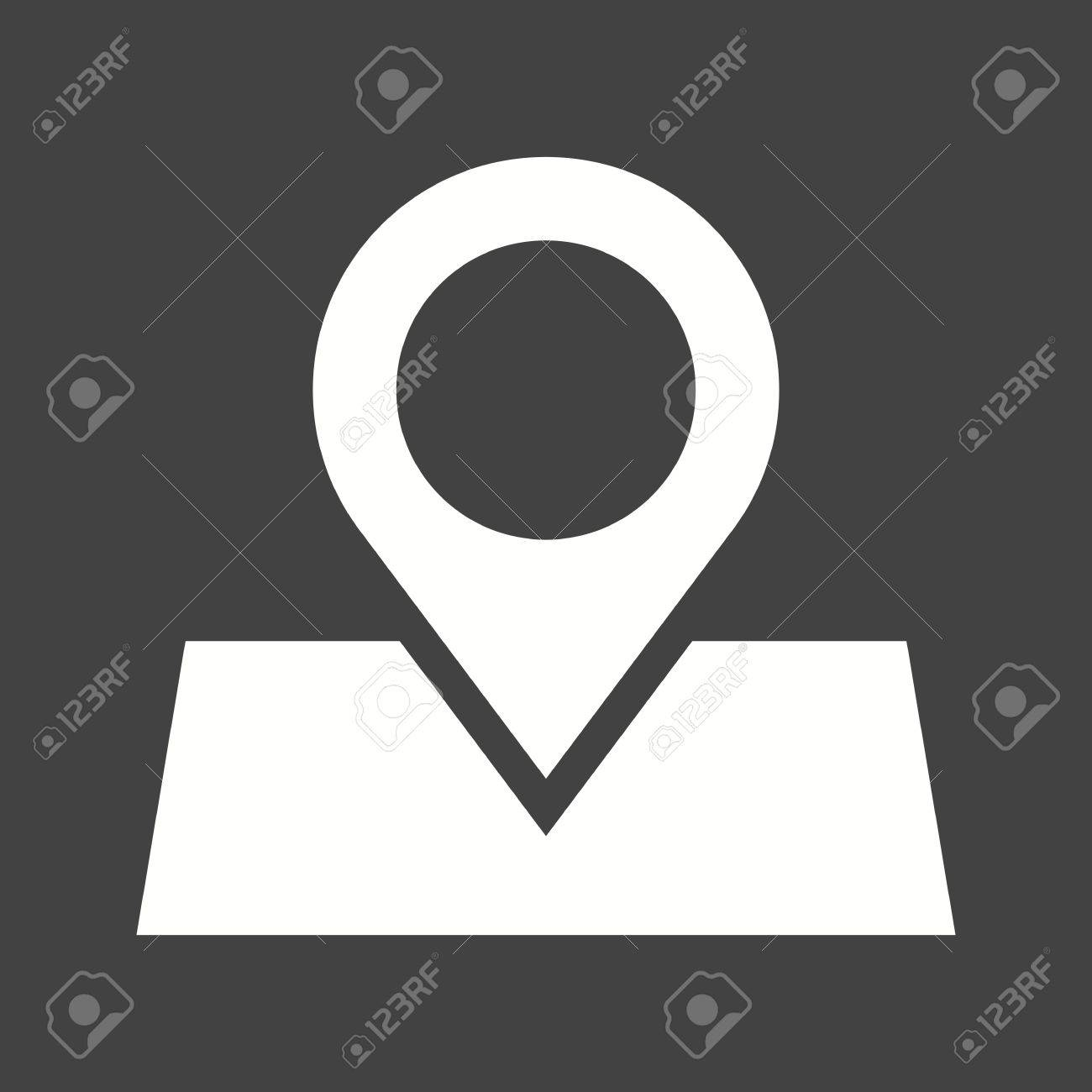 Marked, roadmap, route icon vector image Can also be used for