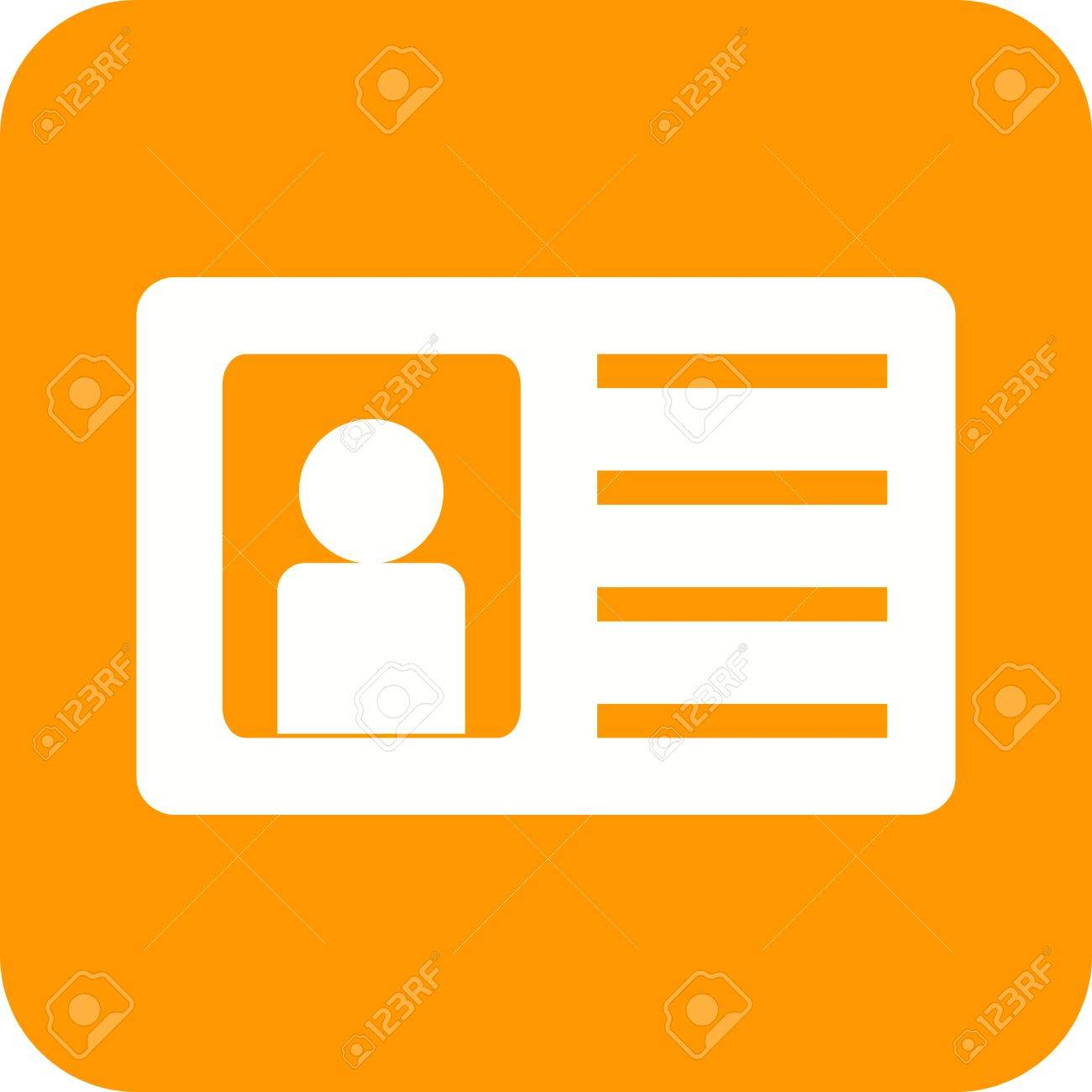 can Illustration Identity Vectors Icon And Be Used Vector 53097522 Image Also Royalty Free Stock Authorization Card Image Cliparts