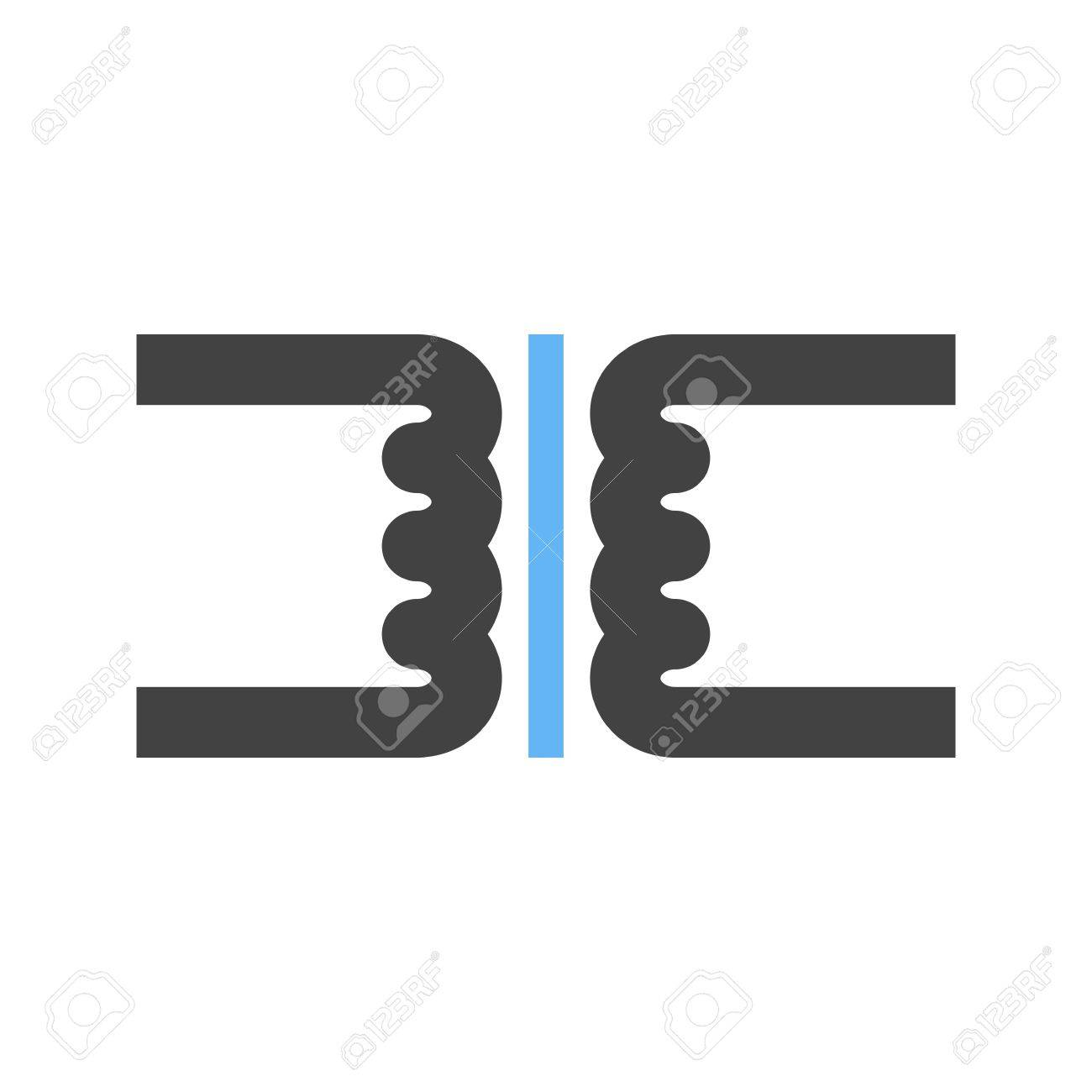 Transformer Circuit Electronic Icon Vector Image Can Also Be Used App Reklamn Fotografie For Electric Circuits Suitable Use On Web Apps