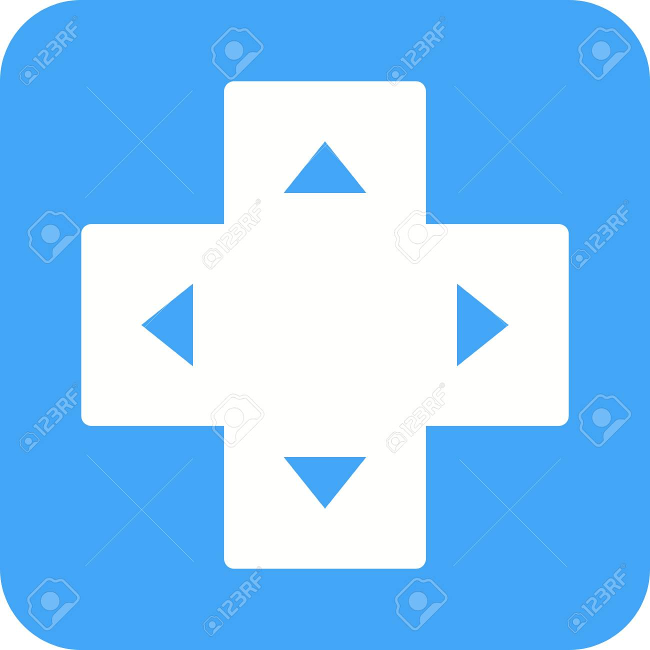 Game, keyboard, arrow icon vector image Can also be used for
