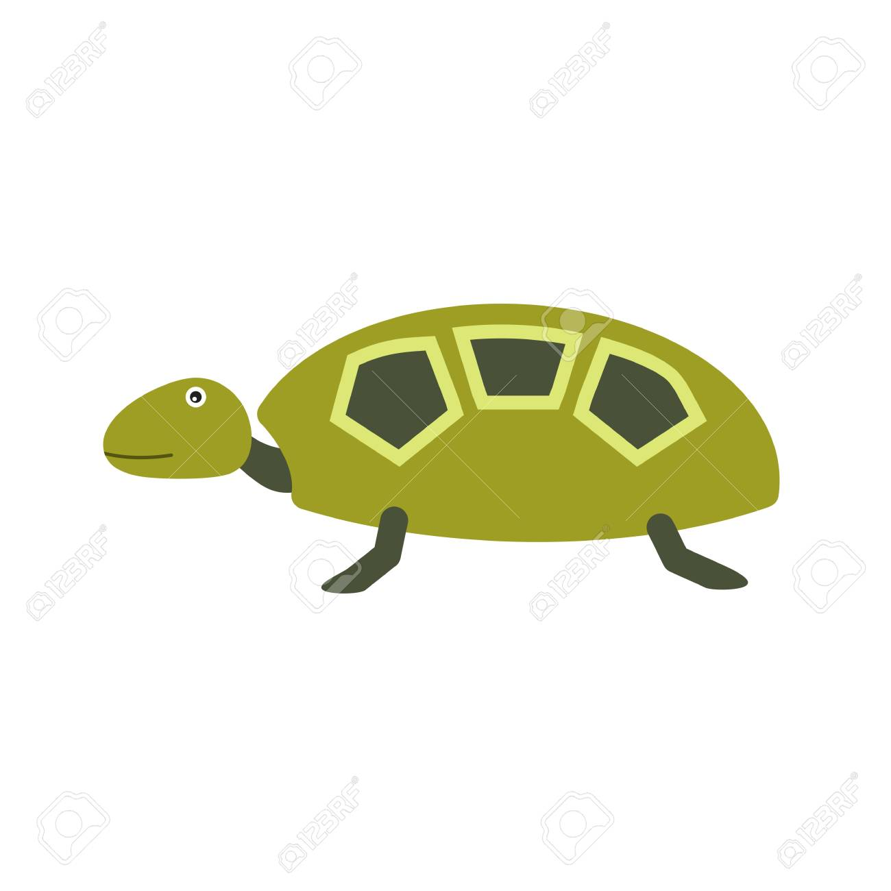 Turtle Shell Sea Icon Vector Image Can Also Be Used For Sea