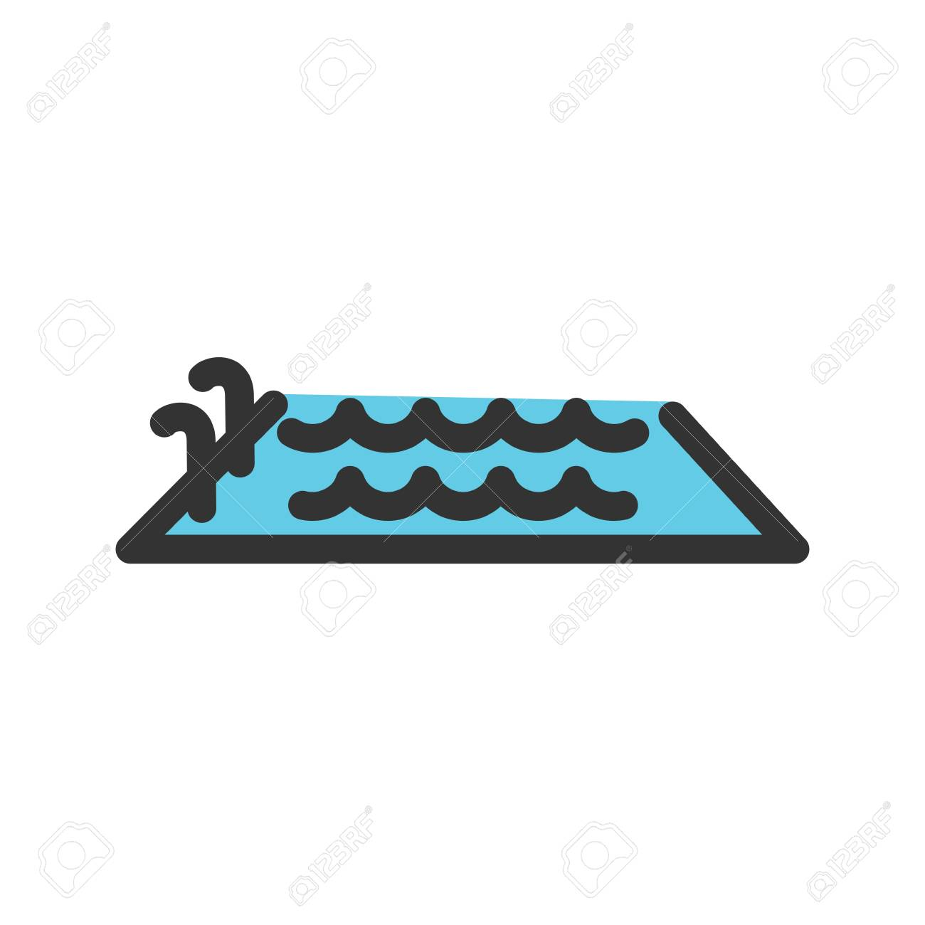 Swimming, pool, water, swim, sports icon image. Can also be used..