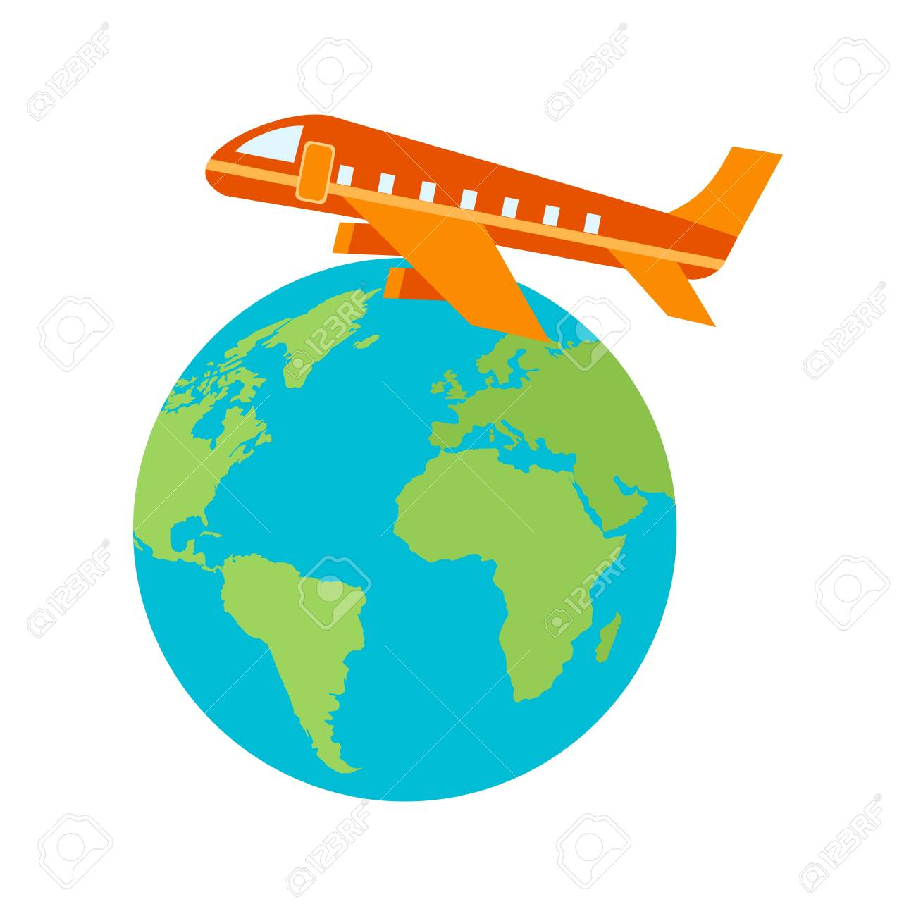 International Airport Flights Icon Vector Image Can Also Be Used For