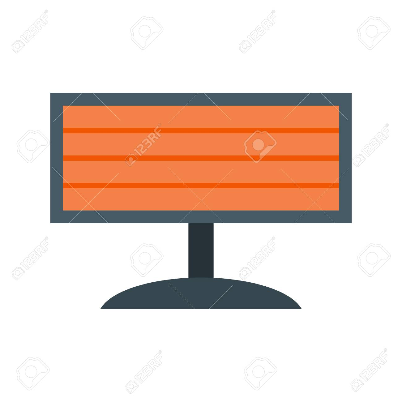 Infrared Heater Icon Royalty Free Cliparts Vectors And Stock