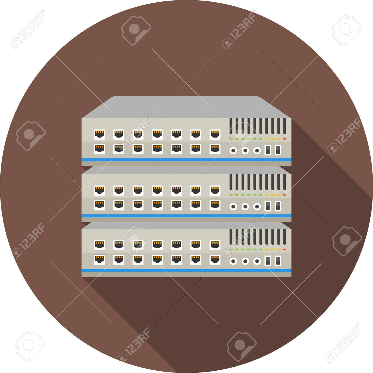 Network Switch Icon - 99459736