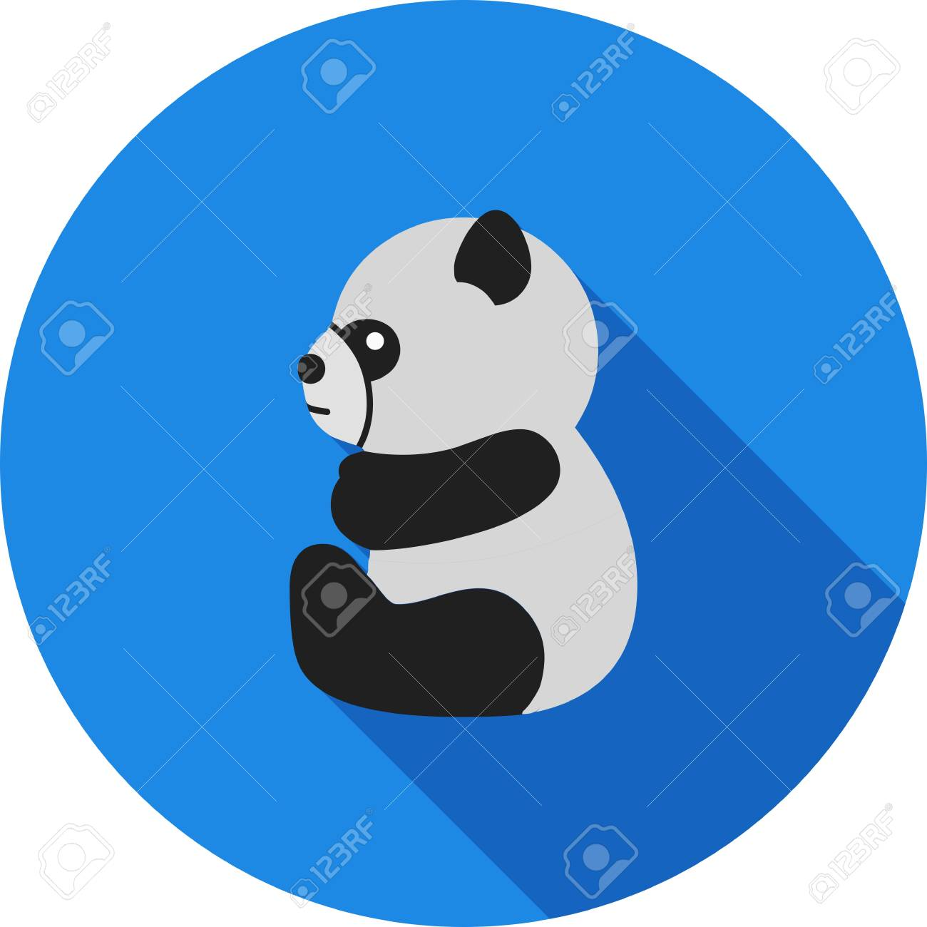 panda bear logo stock vector 99683278