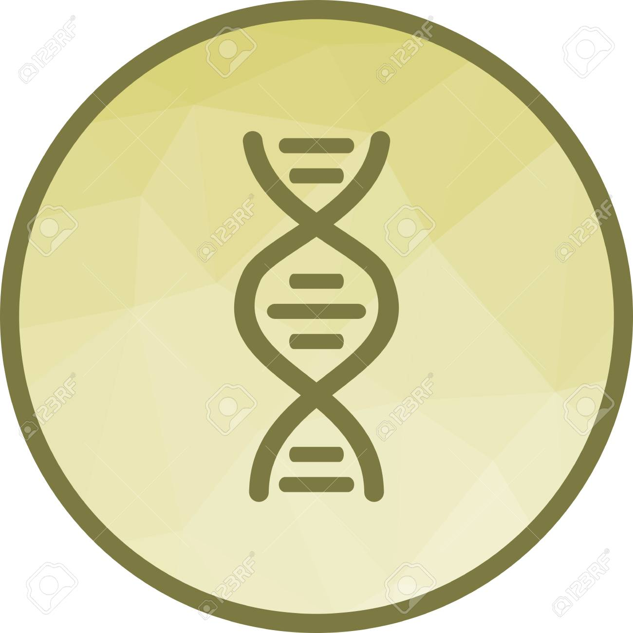 Cell, dna, genes icon vector image  Can also be used for human