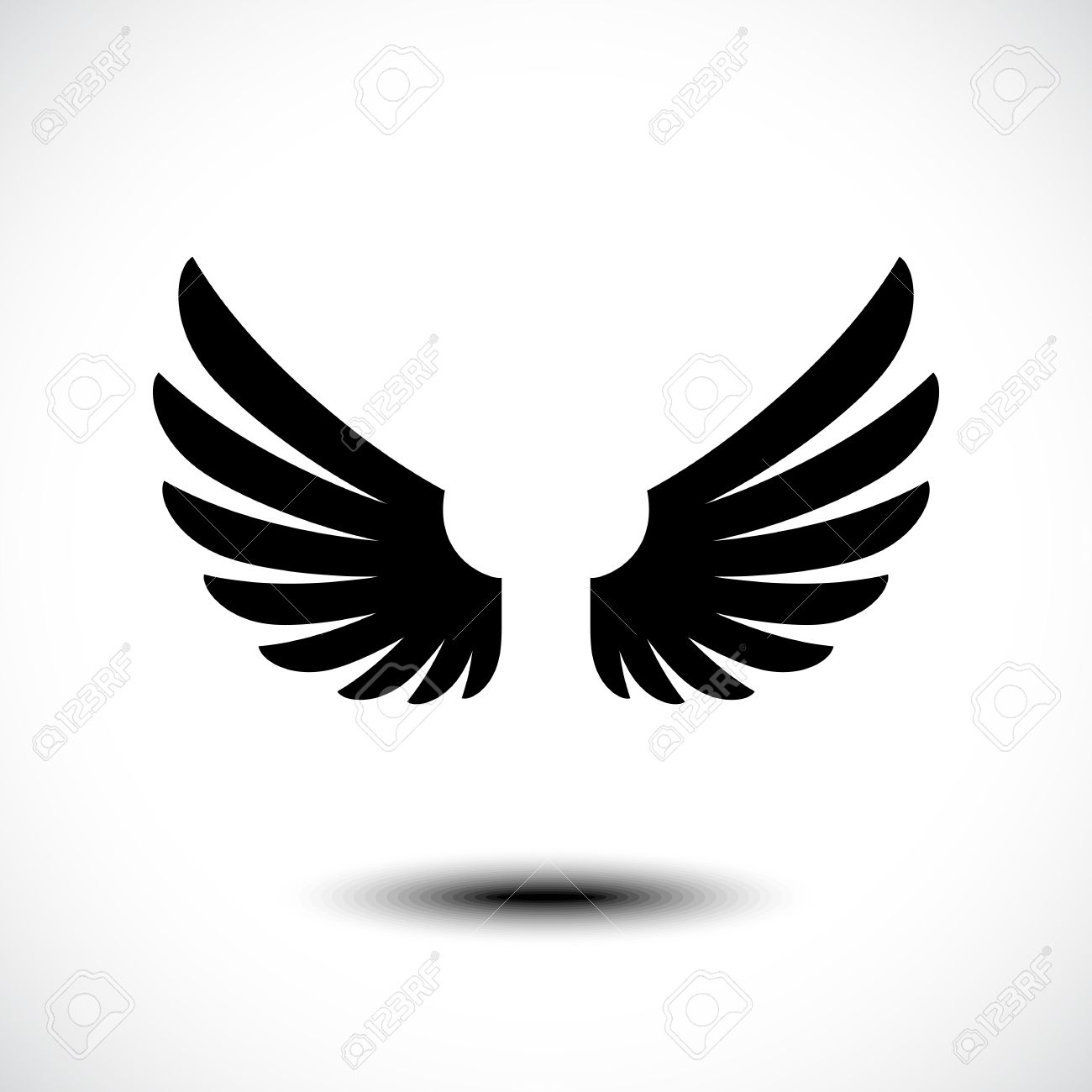 angel wings vector illustration royalty free cliparts vectors and rh 123rf com wind vector wind vector