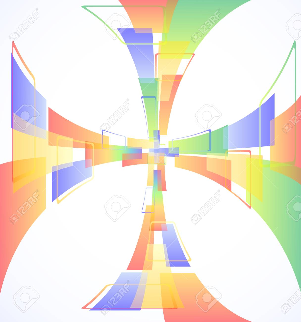 Abstract colorful background illustration eps10 Stock Vector - 8315302