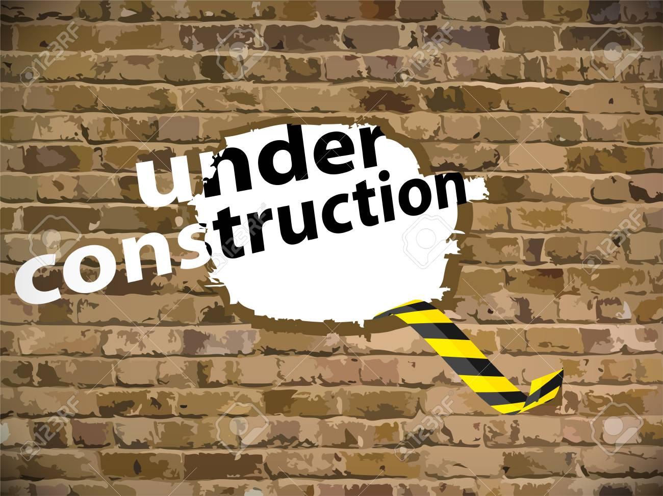 Under construction illustration Stock Vector - 16220963